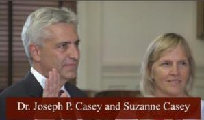 Dr. Joseph P. Casey Swearing In